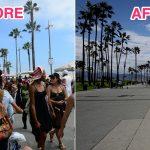 Des photos montrent des monuments californiens désertés après le coronavirus
