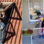 Le drone du photographe a capturé des personnes dans leurs maisons pendant la quarantaine