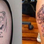 Top 50 des meilleurs tatouages de Sailor Moon