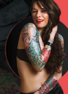 Un beau tatouage définitif