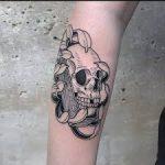 Meilleur tatouage de loup pour hurler à la lune