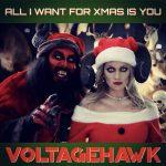 """VOLTAGEHAWK Cadeaux MARIAH CAREY'S """"Tout ce que je veux pour Noël, c'est toi"""" avec une couverture d'horreur chaude et un clip officiel!"""