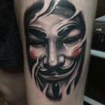 Meilleur tatouage V pour Vendetta (En images) - TattooList