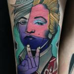 Tatouage Andy Warhol: le guide et les significations (En images) - TattooList