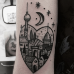 Tatouage de Berlin: comment célébrer la ville (En images) - TattooList