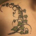 Tatouage de lierre: symboles et significations (En images) - TattooList