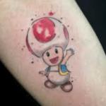 Tattoo Toad - pour les amoureux de SUperMario (En images) - TattooList