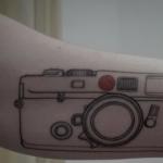 Tatouage appareil photo : le guide (En images) - TattooList