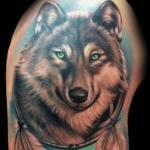 Tatouage de loup: signification et images (En images) - TattooList