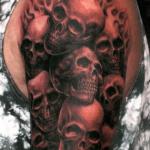 Tatouage tête de mort : guide et photos (En images) - TattooList
