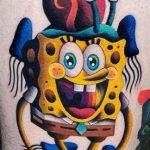 55 tatouages SpongeBob pour les fans de SpongeBob SquarePants (En images) - TattooList