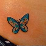 Petits tatouages de papillon: signification et images (En images) - TattooList